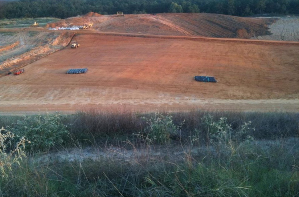 County Landfill Construction